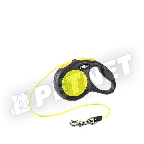 77904d03e8b4 Flexi Neon XS Zsinóros 3m/8kg - zsinóros automatapóráz kutyáknak - 20%  kedvezmény