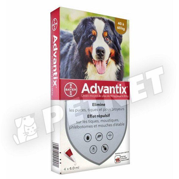 Advantix Spot On 40-60kg között 4x6ml