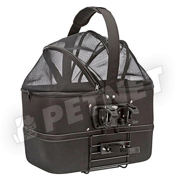 Trixie Oval Front Box szállítóbox kerékpárra 48x29x42cm