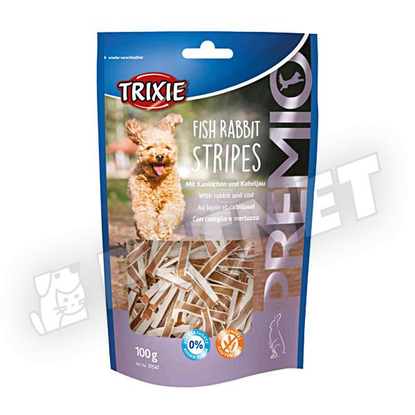 Trixie Premio Rabbit Stripes Hypoallergen 100g