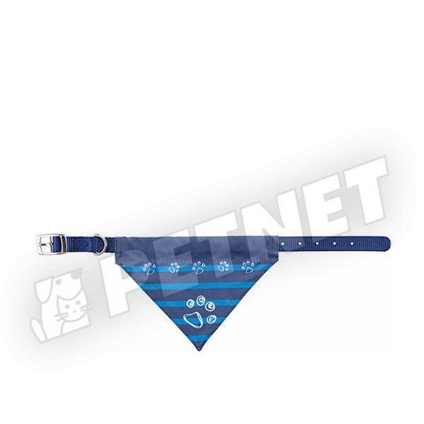 Trixie Kendős Prémium nyakörv kutyáknak Kék XS-S 25-31cm