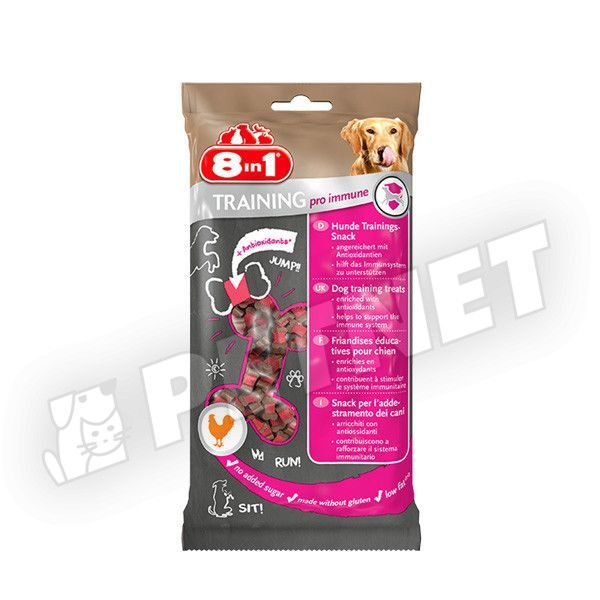 8in1 Training PRO Immune jutalomfalat 100g