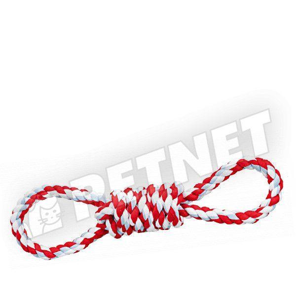 Trixie Playing Rope Duplahurok rugalmas pamut-húzójáték 38cm