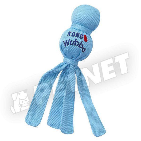 KONG Wubba Puppy kutyajáték Kék