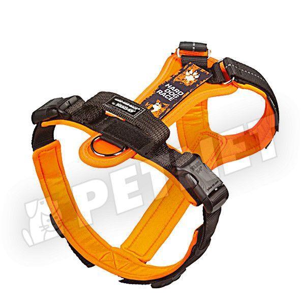 Julius K-9 HDR Hard Dog Race kutyahám Fekete-Narancs 24-38kg L
