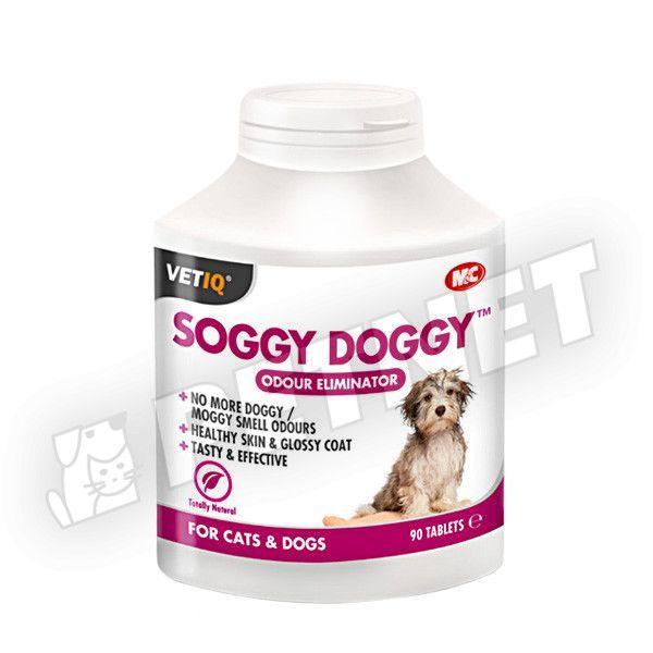 Mark Chappell VetIQ Soggy Doggy Tabletta 90db
