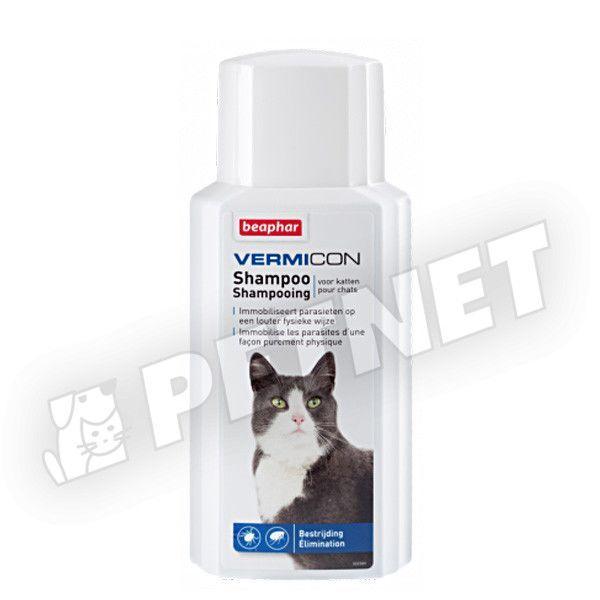 Beaphar Vermicon Cat Sampon macskáknak 200ml