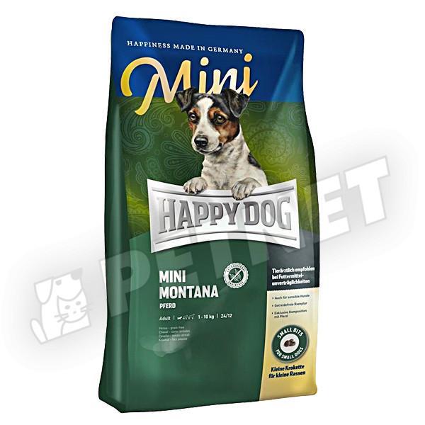 Happy Dog Supreme Sensible Mini Montana lóhússal 300g
