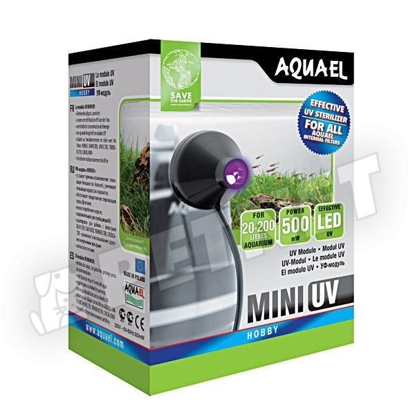 AquaEl Mini UV Led Sreilizáló 20-200l