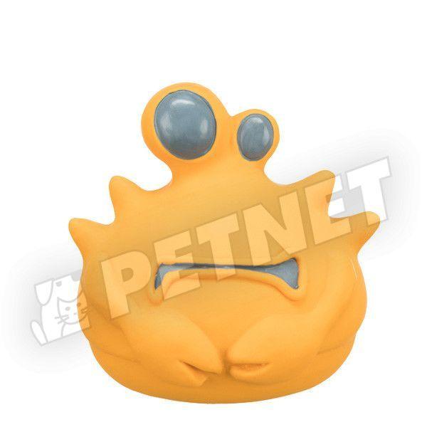 Trixie Szörnyecske latex játék sárga 10cm