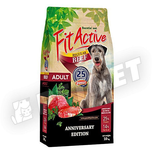 FitActive Adult Beef Regular Jubileumi 10kg