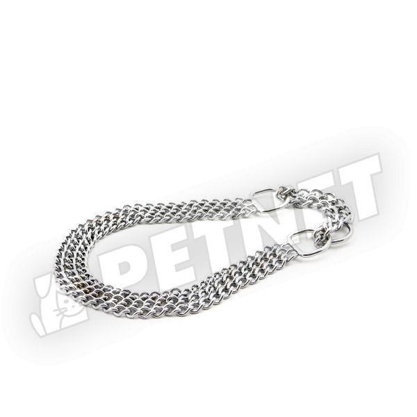 Trixie Háromsoros lánc nyakörv 45cm/2.5mm