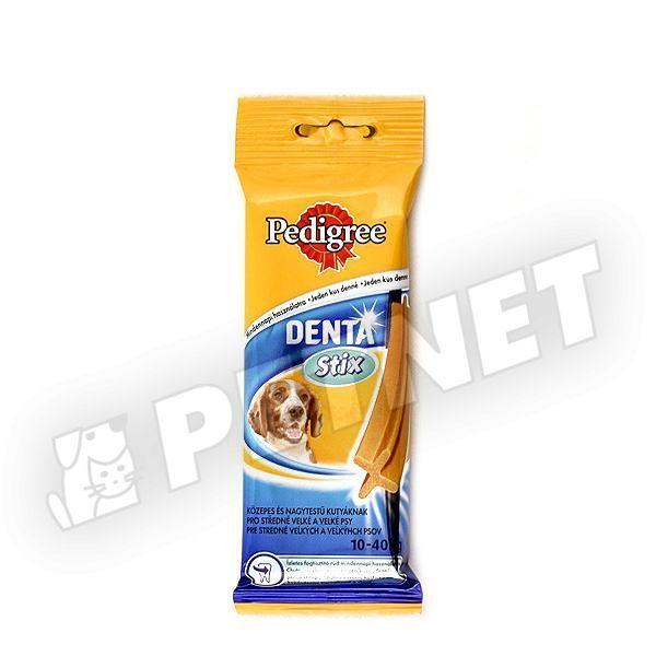 Pedigree Denta Stix M-L 10-25kg között 77g