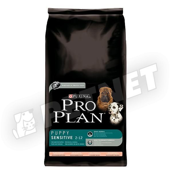 Pro Plan Medium Puppy Optiderma Sensitive Salmon 12kg