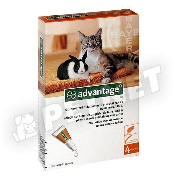 macska élősködők ellen)