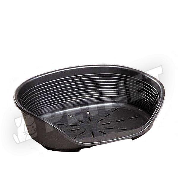 Ferplast Siesta Deluxe műanyag kosár 8 Fekete