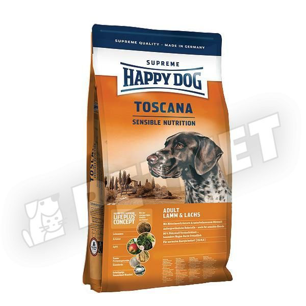happy dog supreme sensible toscana kacs val 1kg kutyat p rz keny kuty knak. Black Bedroom Furniture Sets. Home Design Ideas