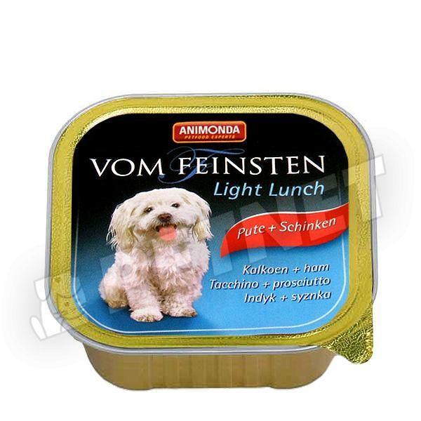 Animonda Vom Feinsten Light Lunch Pulyka Sonka 150g