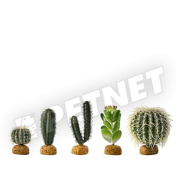ExoTerra Desert Plant Barell Cactus Small 10cm