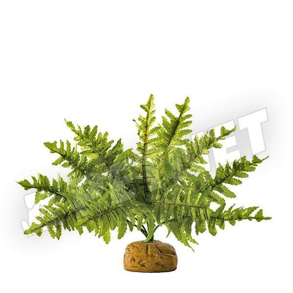 ExoTerra Rainforest Plant Boston Fern Small 25cm