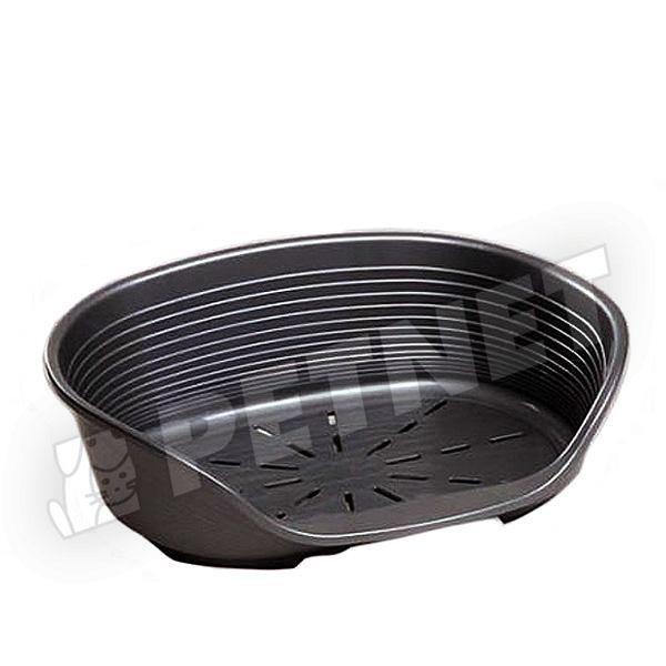 Ferplast Siesta Deluxe műanyag kosár 10 Fekete