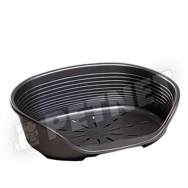 Ferplast Siesta Deluxe műanyag kosár 12 Fekete