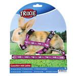 Trixie Nyúlhám nyuszi-répa mintákkal Lila