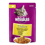 Whiskas Delice Grillezett pulykahús 85g