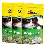 GimCat Denta Kiss fogápoló jutalomtabletták 3x50g