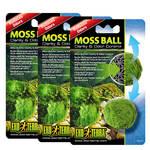 ExoTerra Moss Ball víztisztító mohalabda 3db