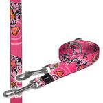 ROGZ Pupz Pink M multifunkciós póráz 180cm