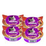 Whiskas Temptations Marha húsos jutalomfalat 4x60g