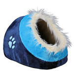 Trixie Minou Plüss Kutyaodú Kék 40cm