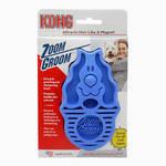 KONG Zoom Groom masszírozó tüskés szőrápoló kefe