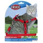 Trixie One Touch Step macskahám Piros 26-37cm