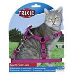 Trixie One Touch Step macskahám Lila 26-37cm