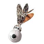 KONG Wubba Floppy Ears Leopard Large 34cm