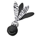 KONG Wubba Floppy Ears Zebra Large 34cm