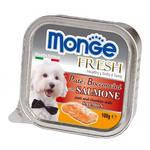 Monge Fresh Salmon Lazacpástétom 100g