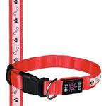 Trixie SaferLife USB világító nyakörv piros M-L 40-50cm