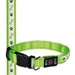 Trixie SaferLife USB világító nyakörv zöld S-M 30-40cm
