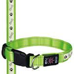Trixie SaferLife USB világító nyakörv zöld L-XL 50-60cm