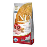 N&D Low Grain Puppy Csirke Gránátalma 12kg