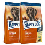 Happy Dog Supreme Sensible Toscana Kacsával 2x12,5kg