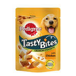 Pedigree Tasty Bites Crunchy Pockets csirkés 95g
