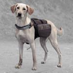 Trixie On The Trek Backpack Barna-Kék 27x16cm