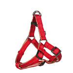 Trixie Softline Elegance Piros Y hám M 50-65cm