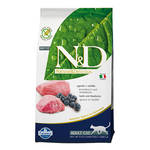 N&D Grain Free Cat Adult Bárány Áfonya 300g