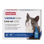 Beaphar Vermicon Line On Spot On Cat 3x1ml