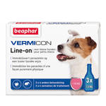 Beaphar Vermicon Line On Spot On Small Dog 3x1,5ml